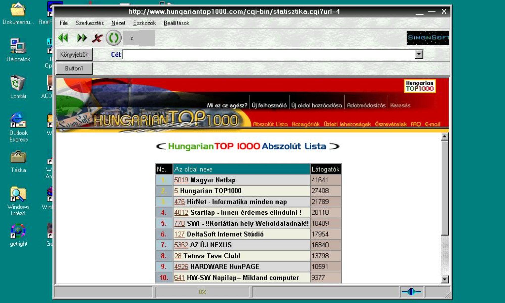 Hungariantop1000.com - /Archívum az 1996-os indulástól/